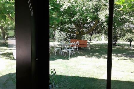 villa Gazounette, maison a la campagne - Castelmayran - Overig