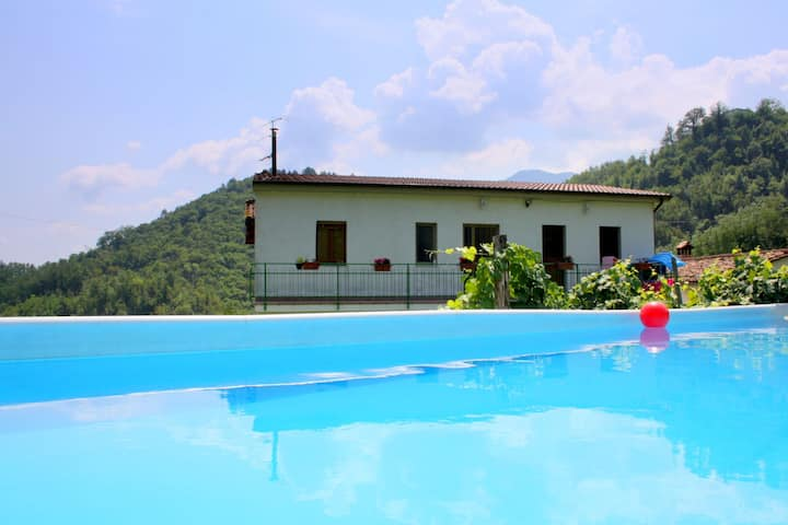 Welcoming Holiday Home in Molazzana with Private Pool