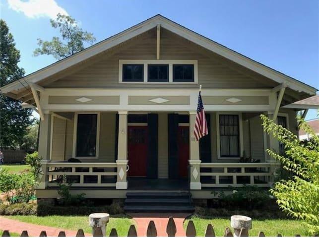 The Morgan Street Craftsman's Cottage