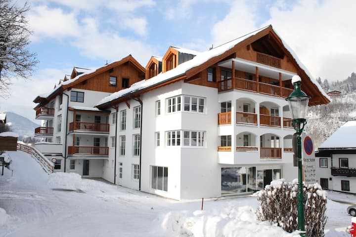 Klassische Ferienwohnung in Skigebiet-Nähe in Leogang