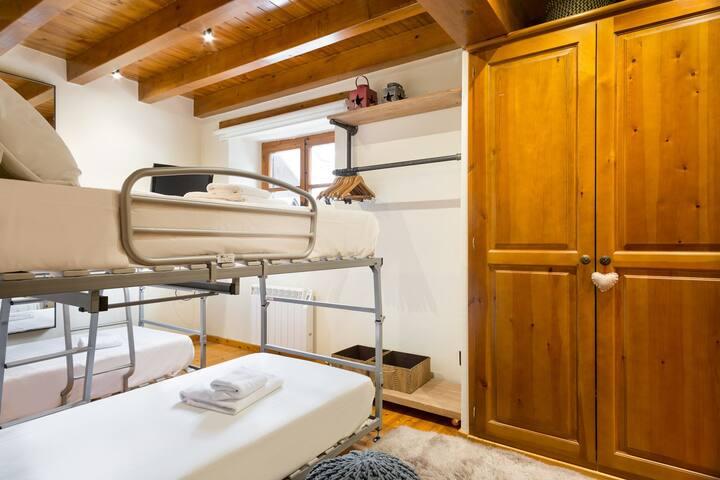 Habitación literas en suite