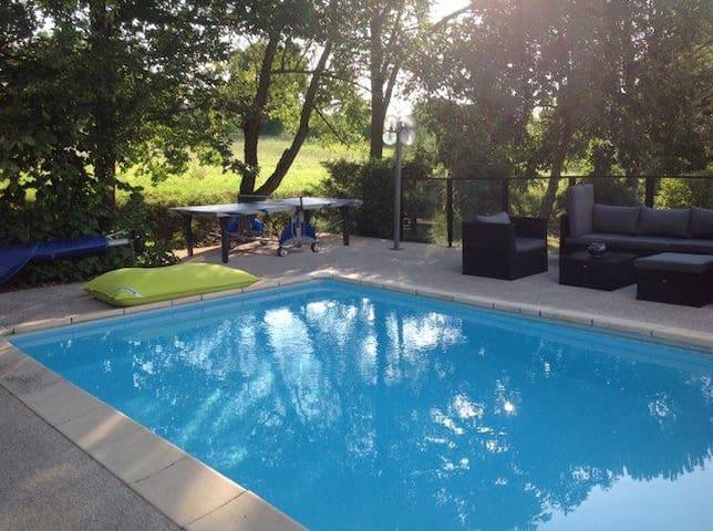 Villa Piscine & Jardin - climatisée Toulouse