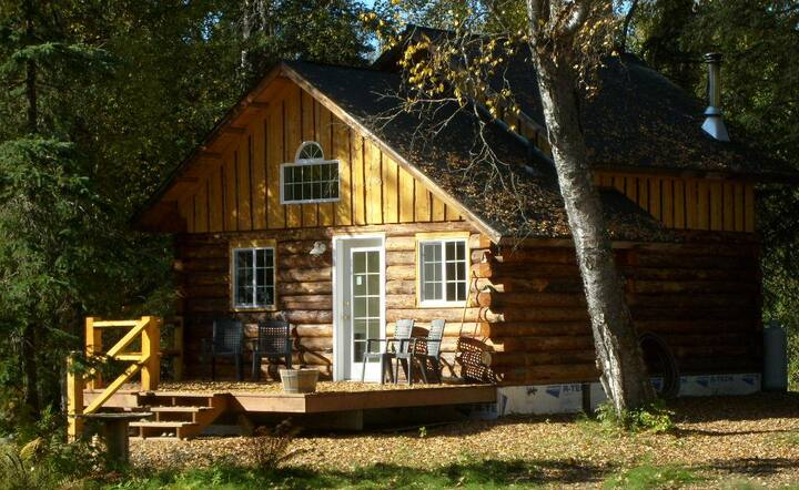 Little Cabin in the Woods (Denali Fireside)