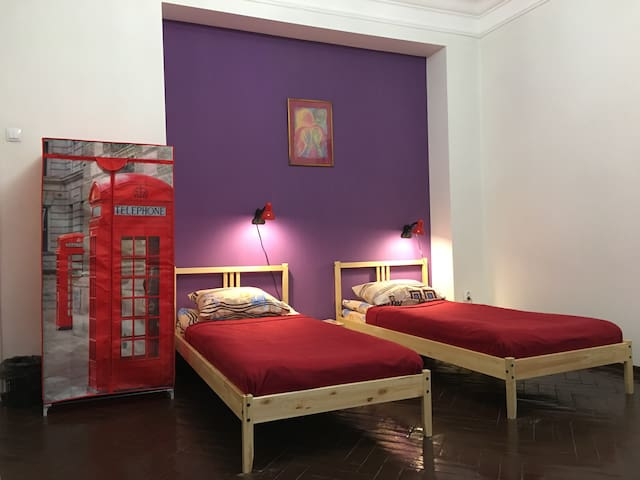 Четырёхместные гостевые комнаты в центре Нижнего