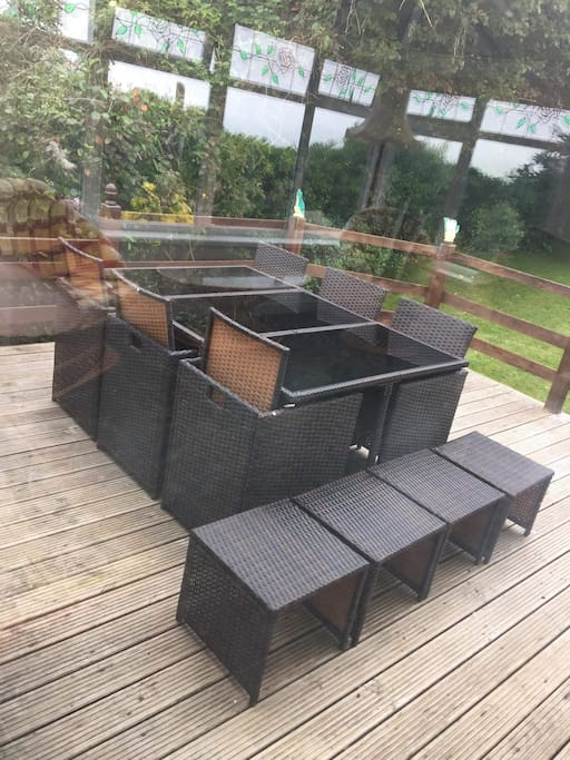 Outdoor decking space