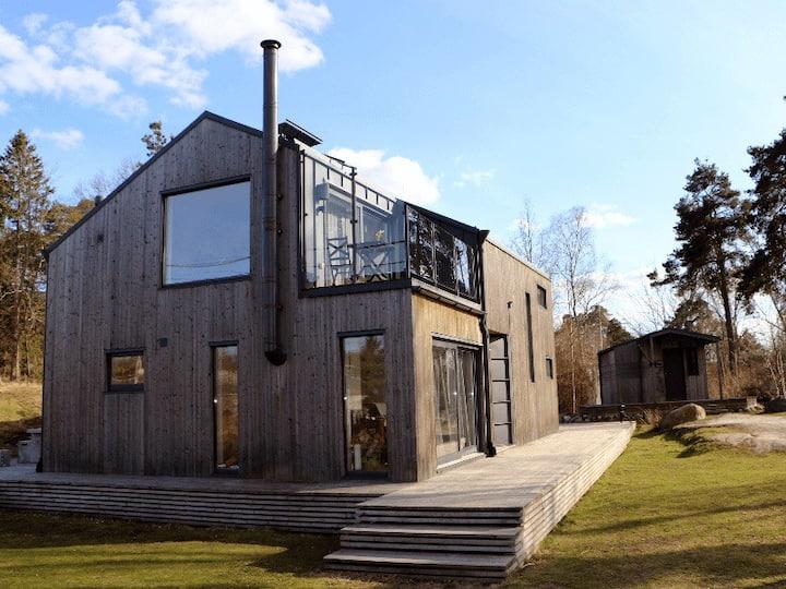 Villa på skärgårdsö (20 minuter från innerstan)