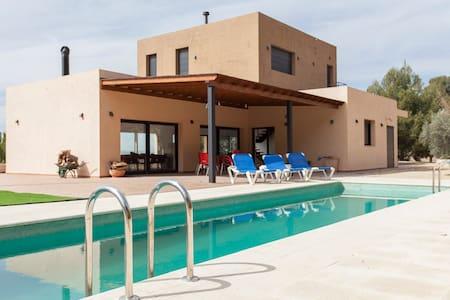 Great villa with swimmingpool Biar - Biar - Casa de campo