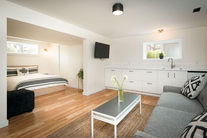New, Private Suite in Victoria's Hippest Area
