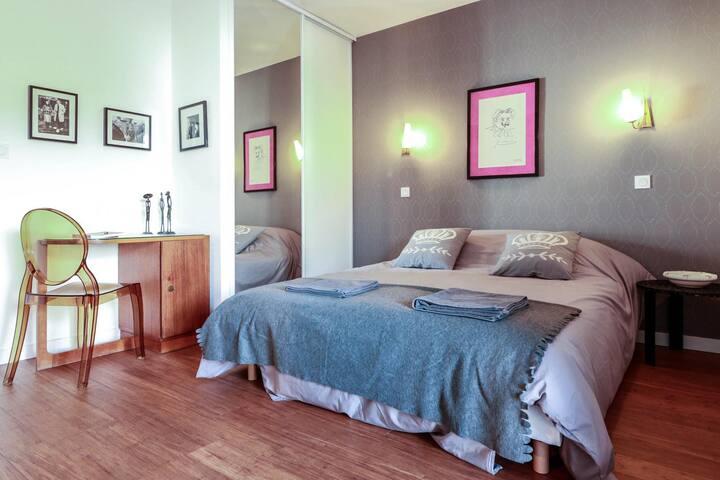 Maison d'hôtes La Galerie Chambre Pablo - Toulouse - Guesthouse