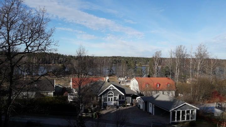 Beautiful villa near Stockholm and lake Drevviken