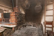 You can use fireplace to make a grill