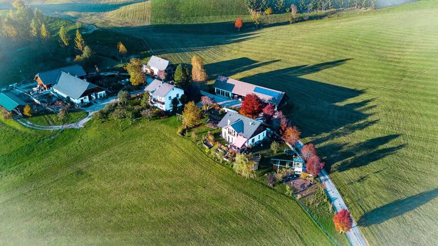 Airbnb am Bauernhof
