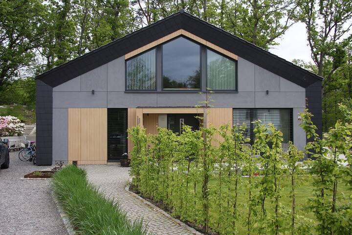 Grand modern villa in natural surroundings