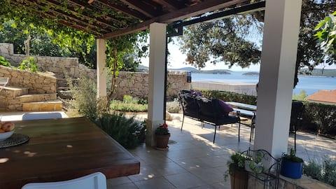 Mediterranean view in Studio apartman Terrace