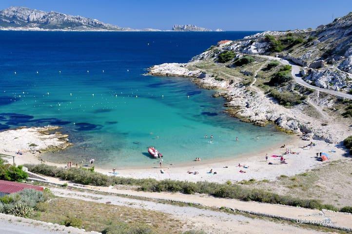 Location studio mer, île du Frioul, Marseille