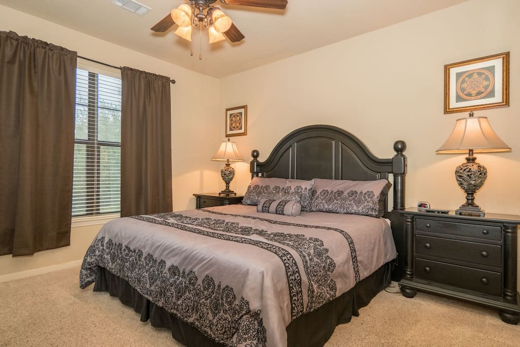 Dream a little in this relaxing Master bedroom