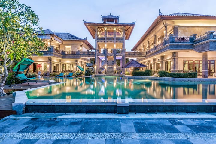 Huge 6B Private Castle Villa located in Nusa Dua