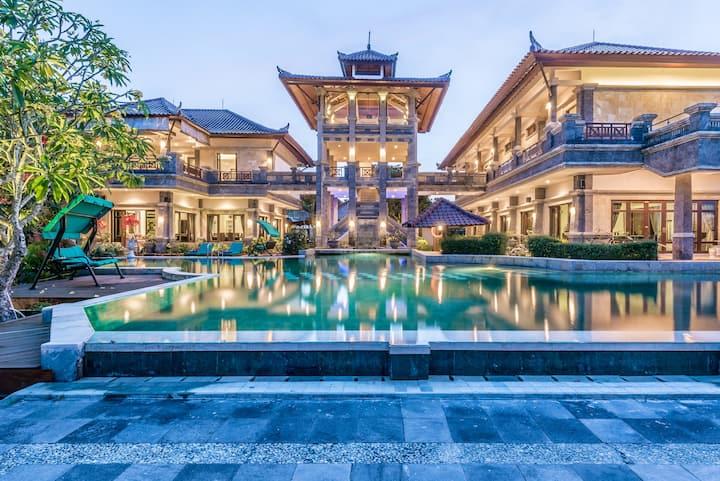 Huge 6B Private Castle Villa located in Nusa Dua