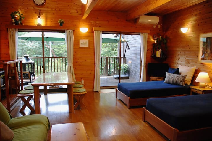 "Nasu highlands ""Prime cottage"" for small family"