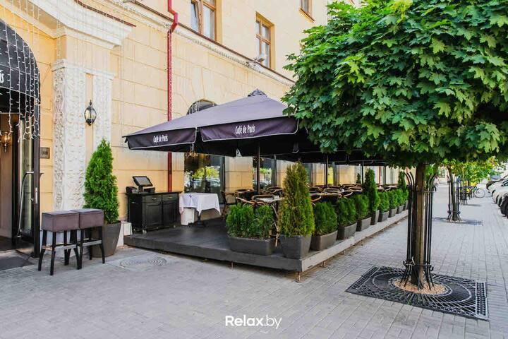Minsk/karla marksa 17/heart of the center 2 r