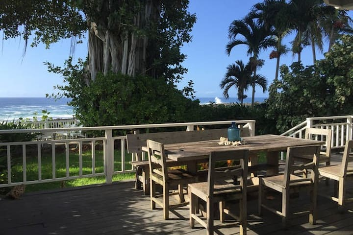 Sharks Cove Oceanfront Home  MONTHLY bookings only