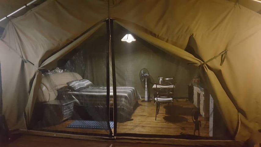 Sentlhane Conservancy Lodging Tent 2