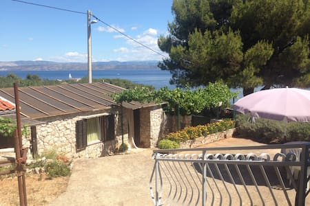 Stone apartment,70m from the sea! - Rogač