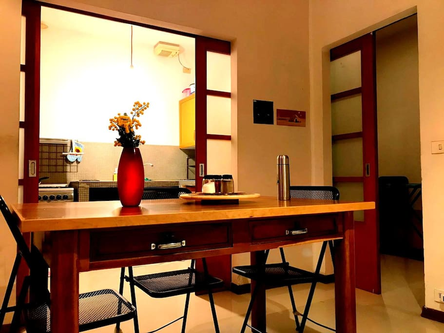Dining with Kitchen