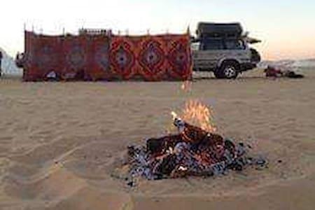 Safari white desert in egypt