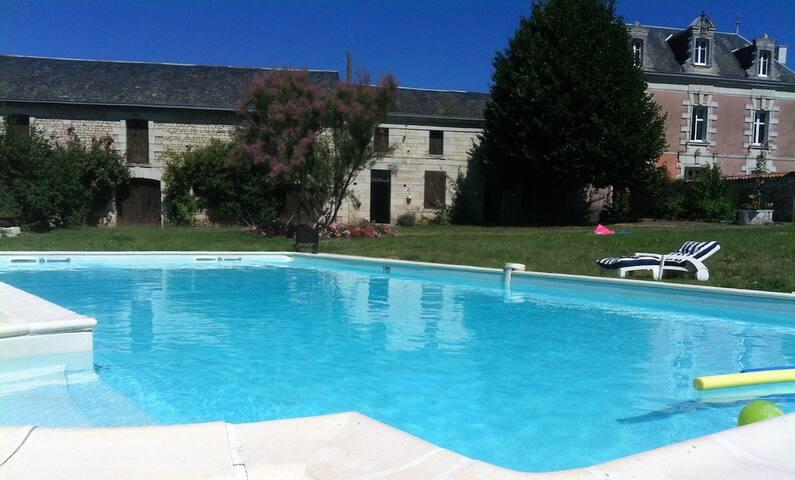 Maison de Maitre avec piscine