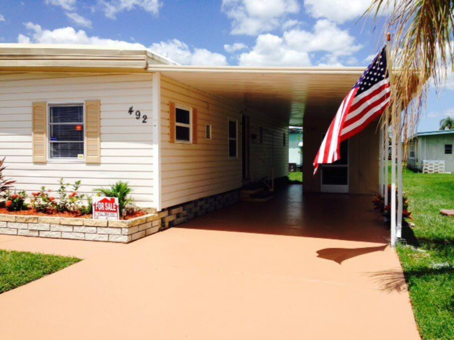 Upscale mobile home near anna maria maisons louer for A louer en floride maison mobile