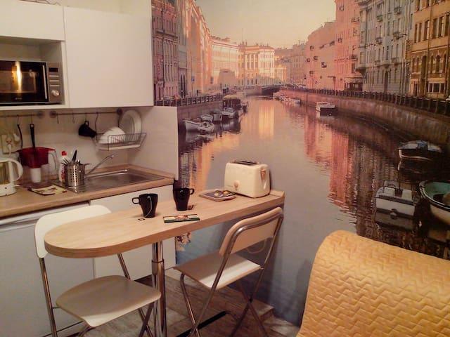 Арт-апартаменты на Фонтанке