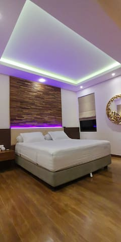 Master bedroom with aircon