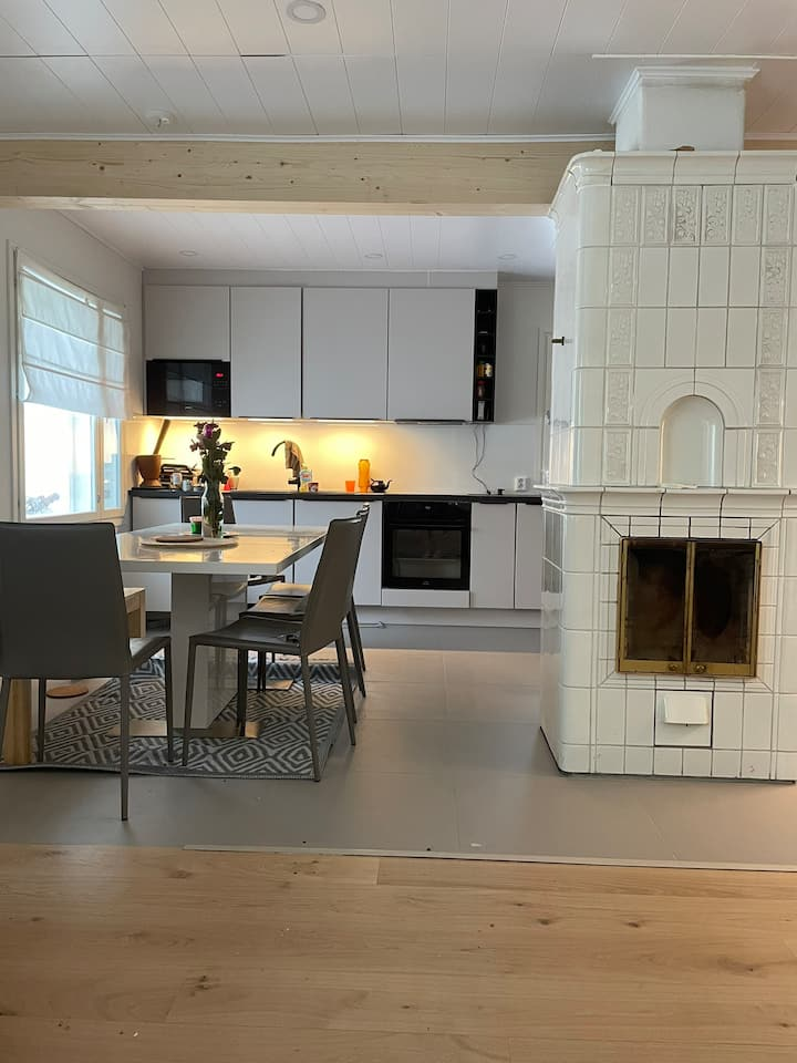 Beautiful, just renovated house in peaceful area