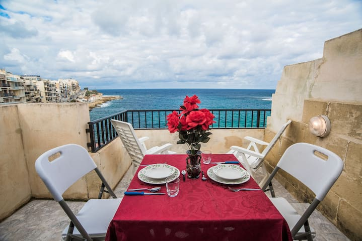 """Sultana Penthouse 7"" in Marsalforn on Gozo"