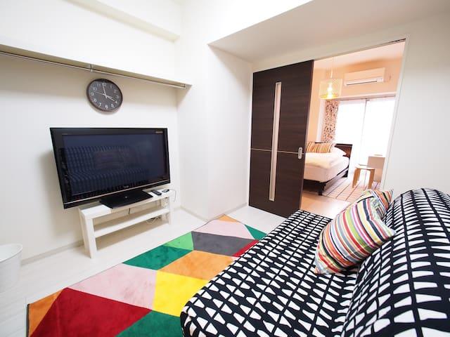 COMFORT OSAKA SHINSAIBASHI 2 COUPLE FAMILY - Chūō-ku, Ōsaka-shi - Apartment