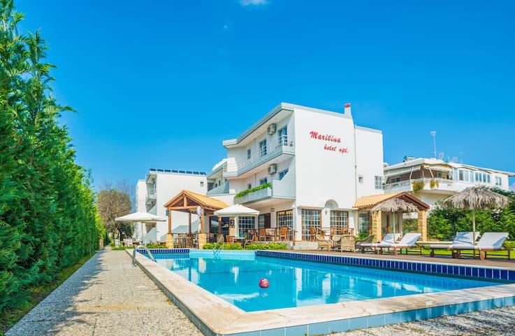 Maritina Apartments - Apartment with Garden View
