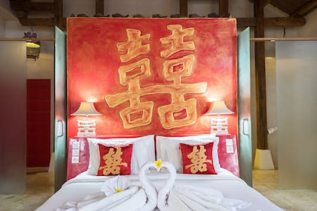 Spacious room with super comfort king size bed