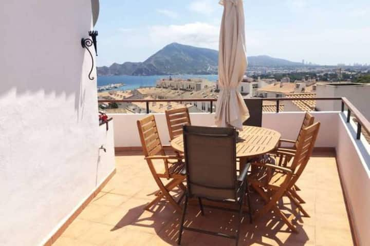 Newly Refurbished Apartment in the Heart of Altea COVID FREE