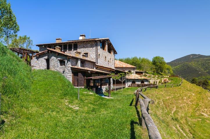 Apartamento rural terraza Garrotxa - Gerona - Villa