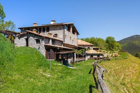 Apartamento rural terraza Garrotxa - Girona
