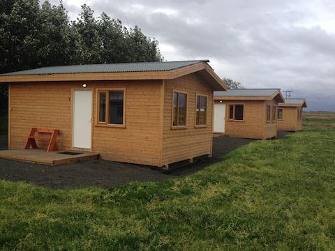 Cabin #1 on Lundar Horse Breeding Farm Borgarnes