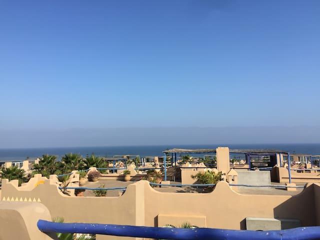 Villa typiquement marocaine