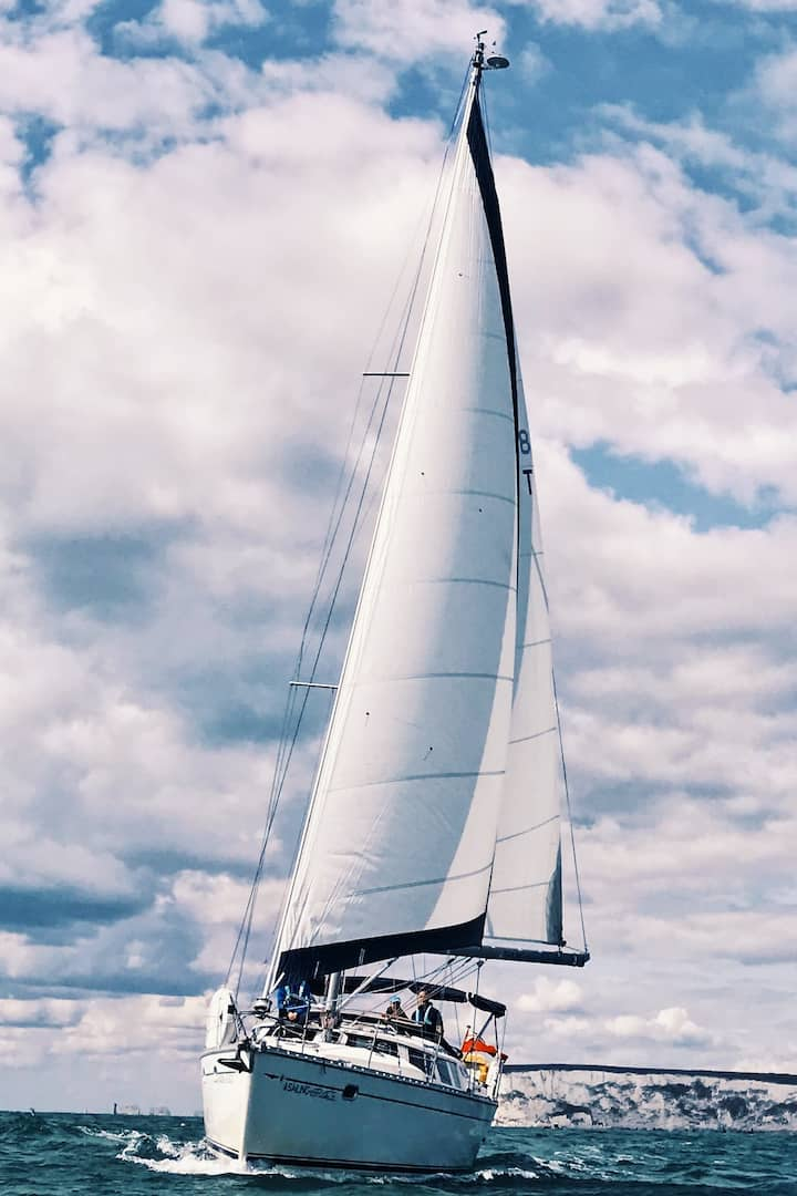 Sunny sailing!