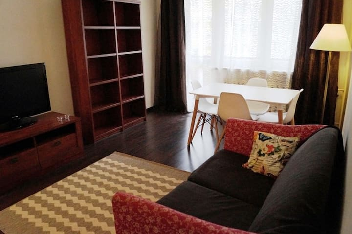 Cozy and quiet apartment in the city center - Częstochowa