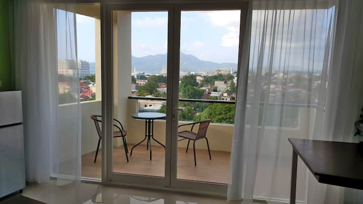Central Titik Ijo Manado apartment + Bunaken views