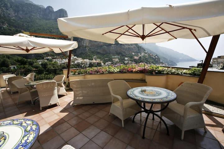 La terrazza più bella di positano x 2 persone!