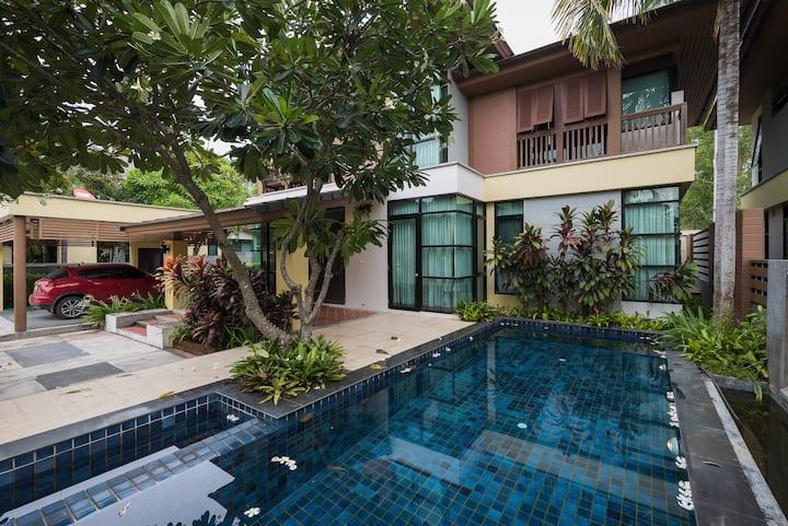 3-BD Private Villa w/ pool V22 Pattaya