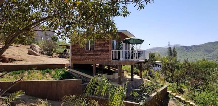 Hermosa Cabaña Campestre,  en Tecate BC.