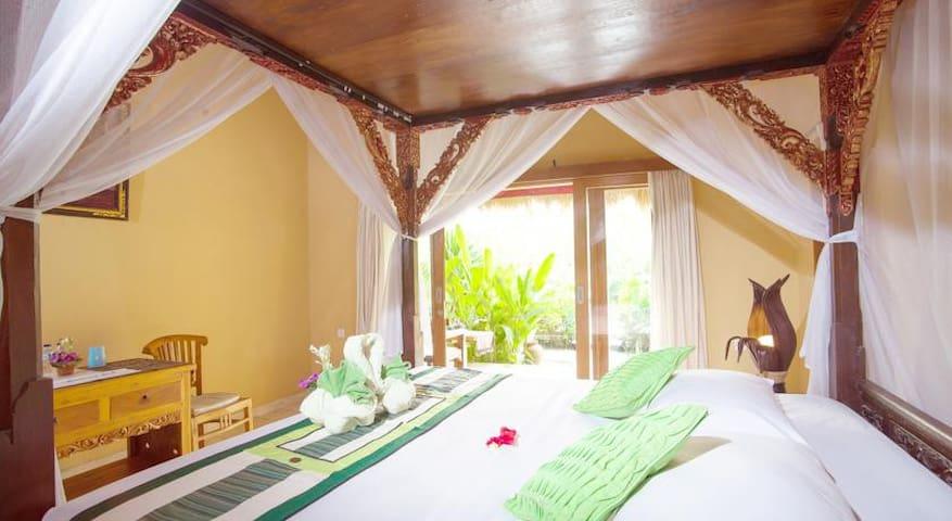 Cozy 1BR garden villa @Mushroom Beach Lembongan - Nusapenida - Appartement